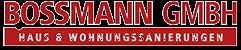 Bossmann Bottrop-Oberhausen | Sanierung und Renovierung aus einer Hand  Logo